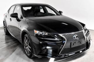 Used 2016 Lexus IS 350 AWD CUIR TOIT NAV MAGS for sale in Île-Perrot, QC