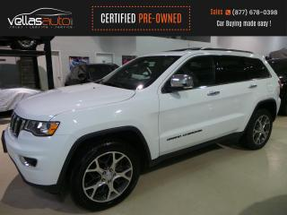 Used 2019 Jeep Grand Cherokee Limited LIMITED| NAVI| SUNROOF| 4X4| 20ALLYS| HEATED SEATS for sale in Vaughan, ON