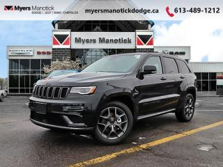 Used 2020 Jeep Grand Cherokee Limited  - Leather Seats - $314 B/W for sale in Ottawa, ON