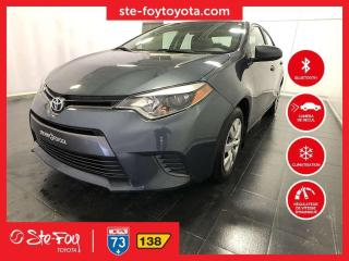 Used 2016 Toyota Corolla LE *AC, SIEGES ET MIROIRS CHAUFFANTS* for sale in Québec, QC