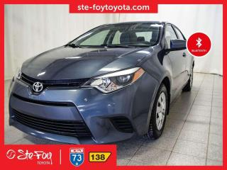 Used 2015 Toyota Corolla CE for sale in Québec, QC