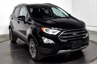 Used 2018 Ford EcoSport TITANIUM AWD CUIR TOIT for sale in Île-Perrot, QC