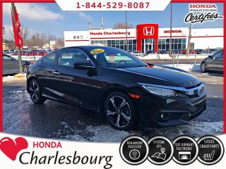 Used 2017 Honda Civic Touring COUPE **17 220 KM** for sale in Charlesbourg, QC