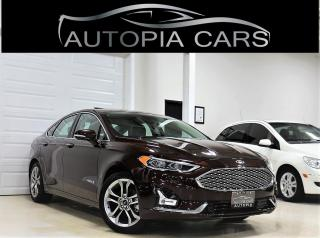 Used 2019 Ford Fusion Hybrid Titanium FWD for sale in North York, ON