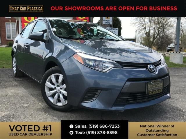 2016 Toyota Corolla LE Backup Cam-Htd Front Seats-Bluetooth-Pwr Windows/Locks