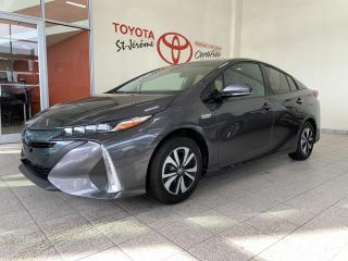Used 2018 Toyota Prius Prime * BRANCHABLE * CAMERA DE RECUL * BLUETOOTH * for sale in Mirabel, QC
