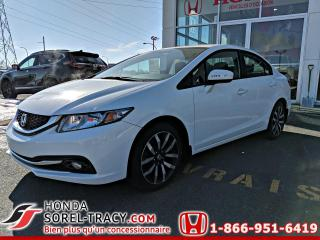 Used 2015 Honda Civic 4 portes automatique Touring for sale in Sorel-Tracy, QC