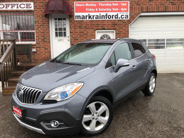 2015 Buick Encore Convenience FWD Bluetooth Back Up Camera