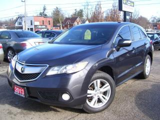 Used 2013 Acura RDX Tech Pkg,AWD,SUNROOF,LEATHER,TINTED,FOG LIGHTS for sale in Kitchener, ON