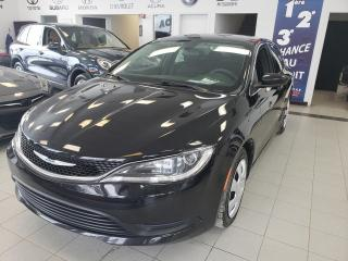 Used 2015 Chrysler 200 LX / BERLINE / CRUISE / AIR CLAIMATISÉ / for sale in Sherbrooke, QC