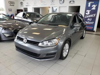 Used 2016 Volkswagen Golf COMFORTLINE/TSI/ CAMERA RECUL / CRUISE / for sale in Sherbrooke, QC