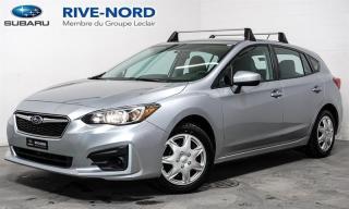 Used 2017 Subaru Impreza Convenience BLUETOOTH+CAM.RECUL+APPLE.CARPLAY for sale in Boisbriand, QC