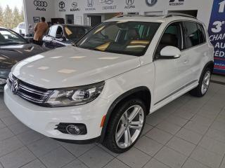 Used 2016 Volkswagen Tiguan MODEL R / 4 MOTION / TOIT PANORAMIQUE / for sale in Sherbrooke, QC