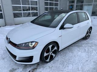 Used 2016 Volkswagen Golf GTI 5-Dr 2.0T Autobahn 6sp DSG at w/Tip for sale in Gatineau, QC