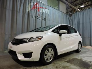 Used 2015 Honda Fit LX **Pré-Certifier** for sale in Rouyn-Noranda, QC