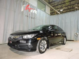 Used 2016 Honda Civic LX **Pré-Certifié****Manuelle 6 vitesses** for sale in Rouyn-Noranda, QC