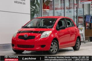 Used 2007 Toyota Yaris HATCHBACK LE for sale in Lachine, QC