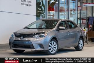 Used 2015 Toyota Corolla LE BAS KILOMÉTRAGE!! for sale in Lachine, QC