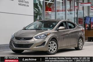 Used 2016 Hyundai Elantra GL SIÈGES CHAUFFANTS! for sale in Lachine, QC
