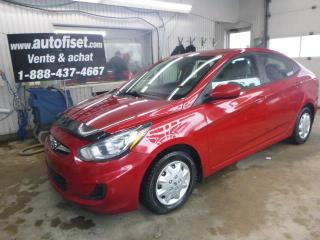 Used 2013 Hyundai Accent 4dr  Auto GL   $41.44 par semaine + taxes for sale in St-Raymond, QC