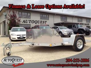Used 2017 RC Trailers 8.5' x 11' OB2 Aluminum 2-Place Motorcycle Trailer for sale in Winnipeg, MB