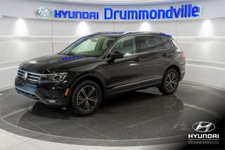 Used 2019 Volkswagen Tiguan HIGHLINE + 4MOTION + GARANTIE + NAVI !! for sale in Drummondville, QC