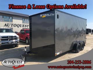 Used 2020 Stealth Cargo Trailer 7' x 16' V-Nose for sale in Winnipeg, MB