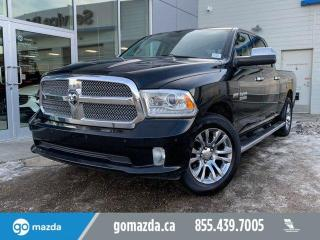 Used 2014 RAM 1500 LIMITED - CREW CAB, AIR RIDE, FULL LOAD BLACK BERRY JAM for sale in Edmonton, AB