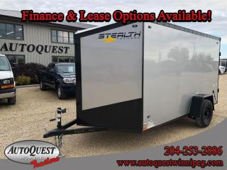 Used 2021 Stealth Cargo Trailer 6' x 12' V-Nose for sale in Winnipeg, MB