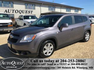 Used 2012 Chevrolet Orlando 4cyl 2.4L 4dr Wgn for sale in Winnipeg, MB