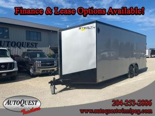 Used 2020 Stealth TRAILER 8.5' x 24' V-Nose Cargo for sale in Winnipeg, MB