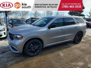 Used 2017 Dodge Durango R/T BLU-RAY NAV ADAPTIVE AWD 7PASS LEATHER PANORAMIC for sale in Edmonton, AB