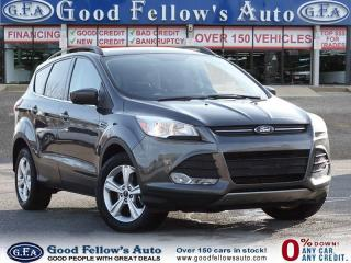 Used 2016 Ford Escape SE MODEL, 1.6ECO, AWD, REARVIEW CAMERA, HEAT SEATS for sale in Toronto, ON