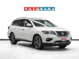 Used 2017 Nissan Pathfinder Platinum 4WD Nav Leather Sroof Bcam 7Pass DVD for sale in Toronto, ON