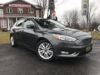 Used 2018 Ford Focus Titanium Htd Lthr Seats-Sunroof-Backup-Bluetooth for sale in London, ON