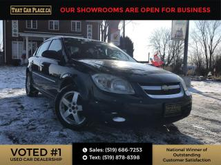Used 2010 Chevrolet Cobalt LT Power Roof-Alloys-Cruise Control-A/C for sale in London, ON
