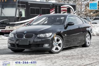 Used 2008 BMW 3 Series 328i|Convertible|Lthr|Clean Carfax|Low KM|Keyless for sale in Bolton, ON