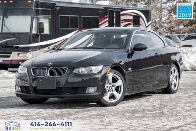 2008 BMW 3 Series 328i|Convertible|Lthr|Clean Carfax|Low KM|Keyless
