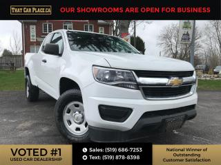 Used 2016 Chevrolet Colorado WT Ext. Cab-BackUpCam-Pwr Windows,Seats, Mirrors-A/C for sale in London, ON