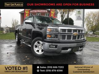 Used 2015 Chevrolet Silverado 1500 1LZ LTZ 4x4- Backup Cam-Leather Seats-RemoteStarter for sale in London, ON