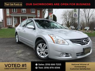 Used 2012 Nissan Altima 2.5 S Alloys-Power Windows-A/C-Cruise Control for sale in London, ON