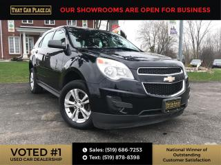 Used 2013 Chevrolet Equinox LS Bluetooth-Alloys-A/C-Cruise for sale in London, ON