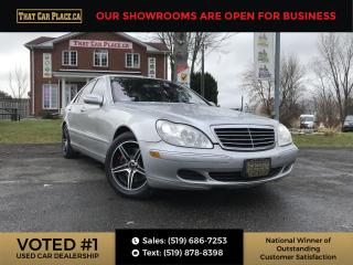 Used 2006 Mercedes-Benz S-Class LWB S430 4matic-AWD-Navigation for sale in London, ON