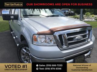 Used 2008 Ford F-150 XLT 4X4 - SuperCrew-Remote Start-A/C-Power Window/Locks for sale in London, ON