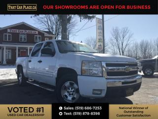 Used 2010 Chevrolet Silverado 1500 LT1 Crew Cab 4WD 4x4 Crew Cab- Remote Start for sale in London, ON