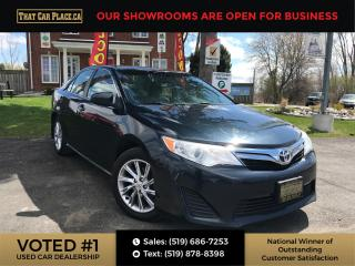 Used 2014 Toyota Camry LE Sunroof-Backup-Bluetooth-Alloys-Pwr Windows/Locks/Mirrors for sale in London, ON