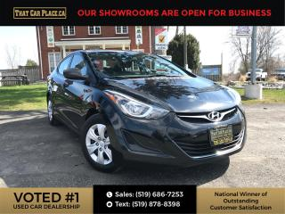 Used 2015 Hyundai Elantra Pwr Windows-USB/AUX-LOW KM for sale in London, ON