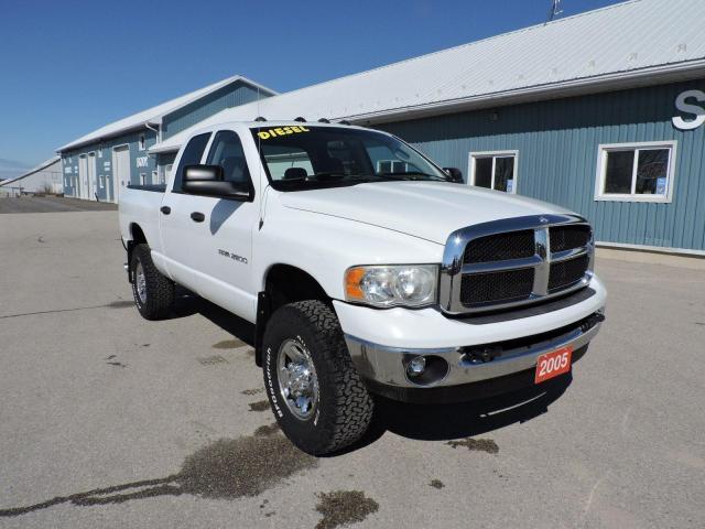 2005 Dodge Ram 2500 SLT. Diesel. 4X4, Rust free truck!