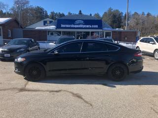 Used 2016 Ford Fusion SE LUXURY! NAV, HEATED WHEEL,  LEATHER, ROOF for sale in Flesherton, ON