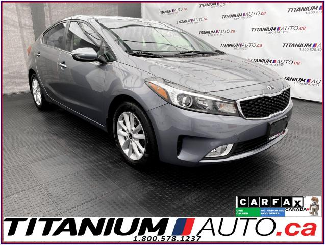 2017 Kia Forte EX+Camera+Apple Play+Heated Seats+Push Button Star